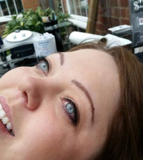 Ascot Permanent Makeup before treatment